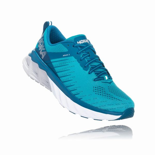 Hoka One One Arahi 3 Road Shoes Womens Blue | TS3777KL
