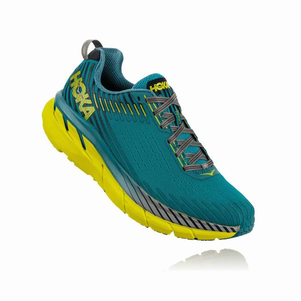 Hoka One One Clifton 5 Road Shoes Mens Blue | CO6374CN