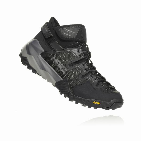 Hoka One One Sky Collection Arkali Hiking Boots Mens Black | BS4629HP