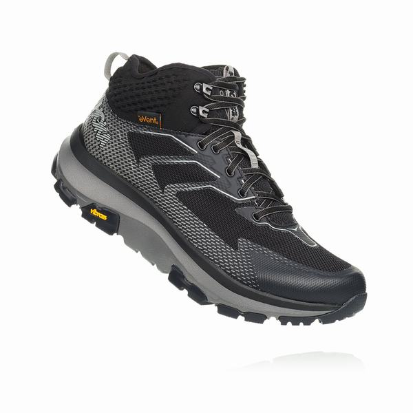Hoka One One Sky Collection Toa Hiking Boots Mens Dark Grey | XZ1838PZ